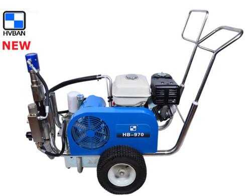 Airless Paint Sprayer machine hydraulic HB970 HVBAN Brand 3