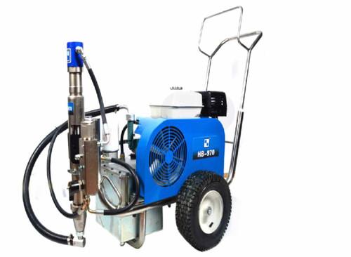 Airless Paint Sprayer machine hydraulic HB970 HVBAN Brand