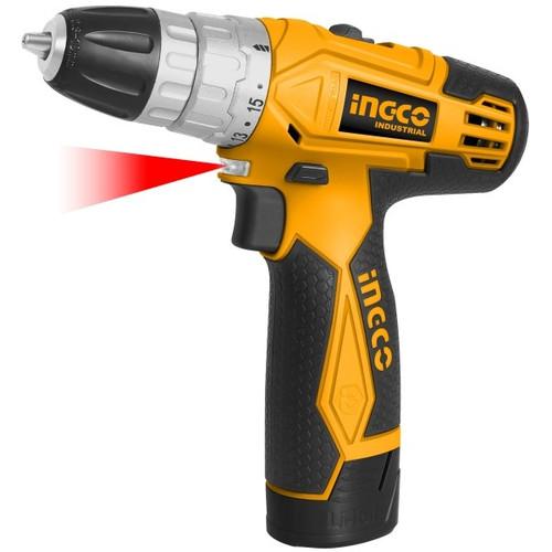 Ingco Lithium - lon cordless drill 12v - (CDLI228120)