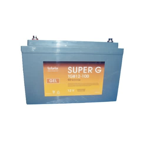 Mercury 12V, 100AH GEL Battery