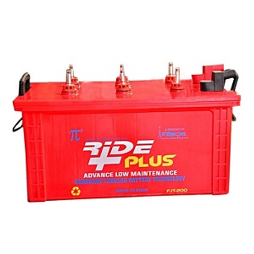 Ride Plus Tubular Inverter Battery 200AH