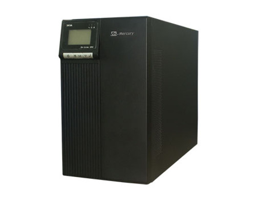Mercury 3KVA 1-P ONLINE UPS, 96VDC, Internal Battery