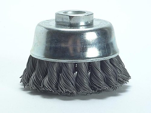Wire cup brush 75mm, 0.5mm, 12500u/min 14.