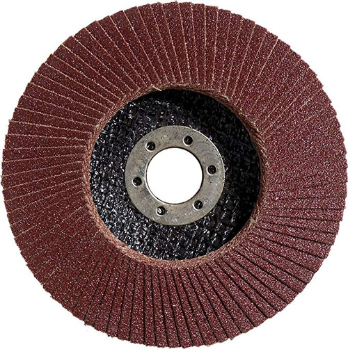 Buy Bosch 2608603717 K60 Flap Disc for Metal, 0 V, Black/Red, 125 mm in Nigeria