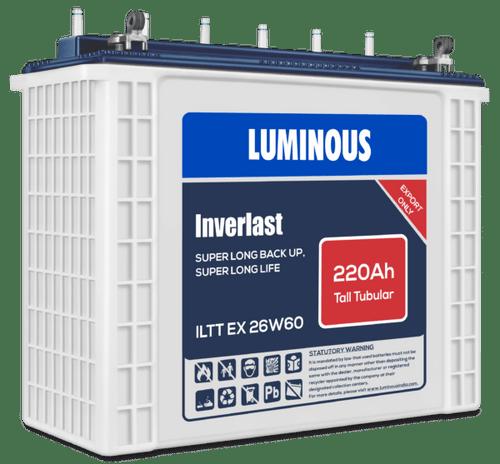 Inverter Battery 220AH/12V - TT Luminous