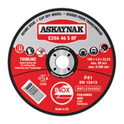 Askaynak Cutting Disc  E20A 60 S BF