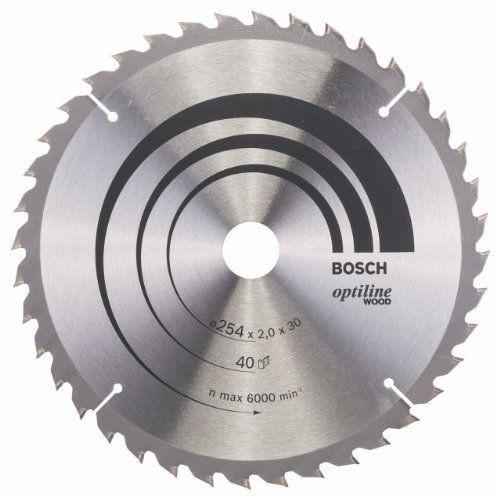 Circular Saw Blade Optiline Wood 254 X 30 X 2,0