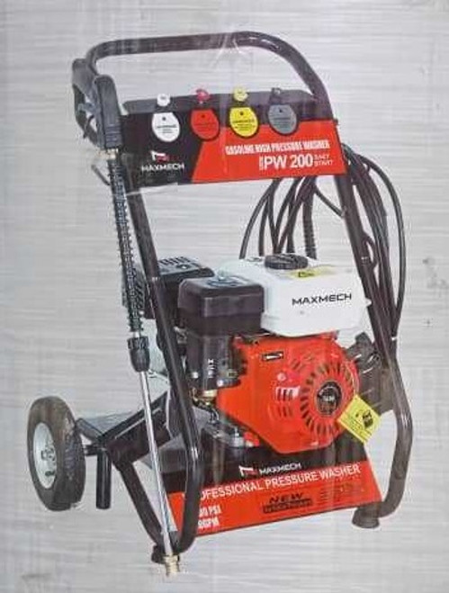 Gasoline High Pressure Washer PW 200 Maxmech