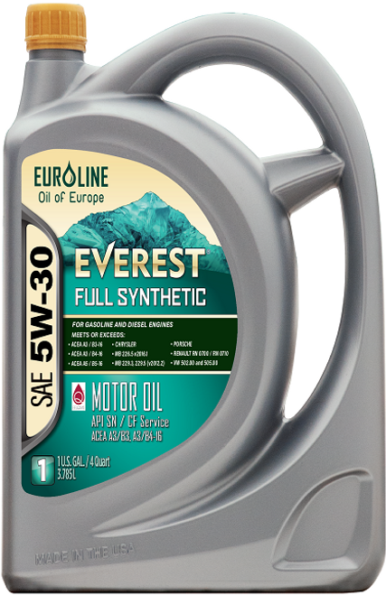 EVEREST MOTOR OIL EURO LINE 5W-30 SN FULL SYNTHETIC