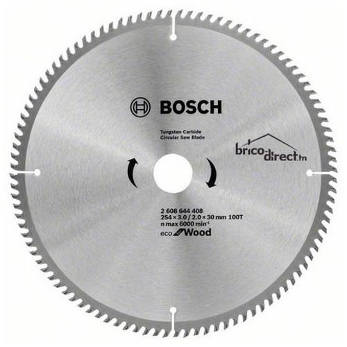 Bosch Professional ECO line Wood B 254x3.0x30, 100T