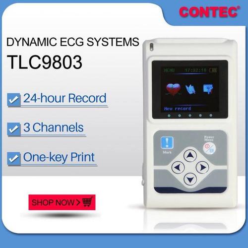 TLC9803 Dynamic ECG Systems Digital 3-lead 24-hour Analyzer Contec