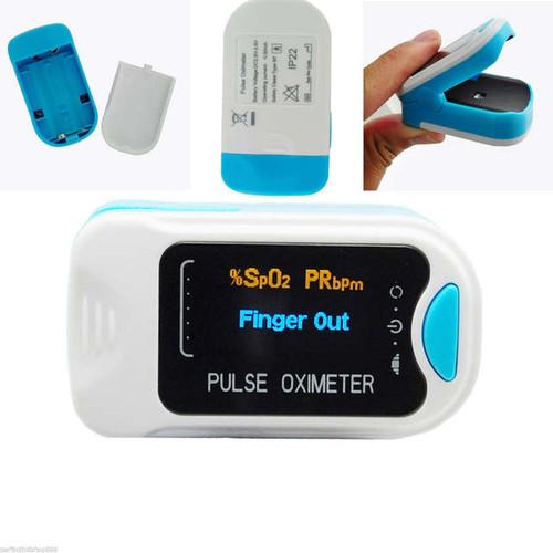 OLED Fingertip PR monitor Blood Oxygen Pulse oximeter CONTEC