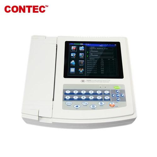 ECG1200G Digital 12 channel/lead EKG+PC Sync software, Electrocardiograph Touch Screen CONTEC