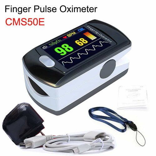 Fingertip Pulse Oximeter Monitor OLED USB+Software Alarm CONTEC