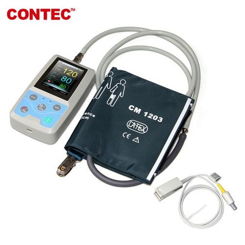 PM50 Portable Vital Signs Patient Monitor NIBP/SpO2/Pr, PC Software CONTEC