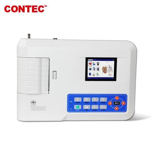 ECG300G Electrocardiograph,Digital 3 Channel 12 lead EKG+Printer,PC software CONTEC