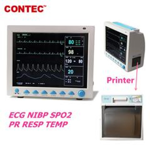 CMS8000  ICU CCU Vital Signs  FDA&CE Patient Monitor,6 Parameters With  Printer Contec