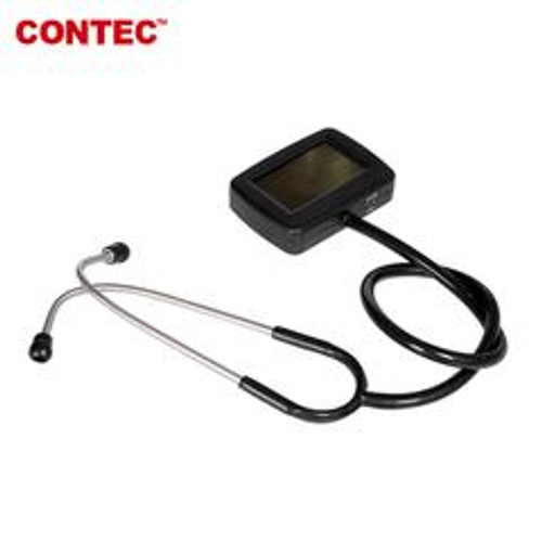 CONTEC CMS-M Electronic Multifunctional Visual Stethoscope with SPO2 probe, Heart Rate