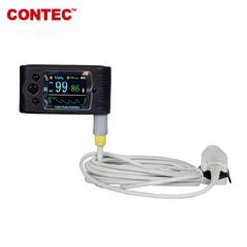Portable Pulse Oximeter OLED Spo2 PR Monitor Alarm/Software CMS60C  CONTEC