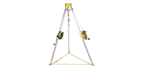 Confined Space Tripod kit for entry and rescue MSA