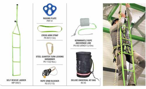 Rescue Ladder System for Self Rescue KARAM