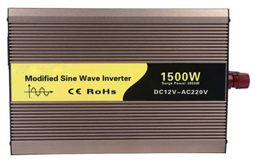 Power Inverter 1500W 12v to 120v-230v ATO
