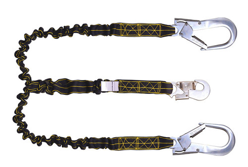 Revolta Expandable Internal Shock Absorbing Forked Lanyard PN 371 IS-AR-OR Karam