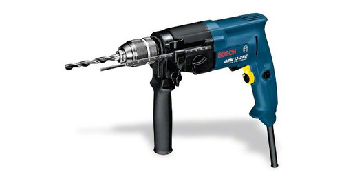 Bosch GBM 13-2 RE professional drill he most important data Rated power input 550 W Drilling diameter in wood 32 / 20 mm Drilling diameter in steel 13 / 8 mm