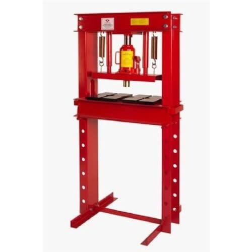 Pneumatic Shop Press With Gauge 30 Ton