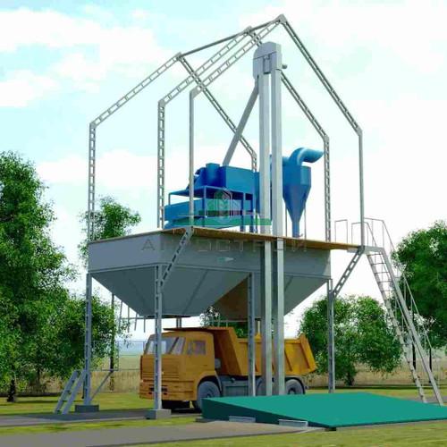 Grain Cleaning Complex ZAV-20 Voronezh Agromash
