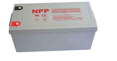 Deep Cycle Battery 200AH NPP