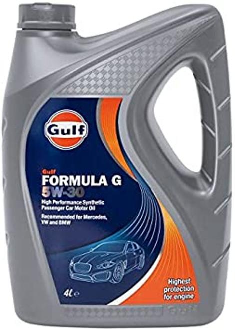 Car Motor Oil Formula G 5W-30 5Ltr Gulf