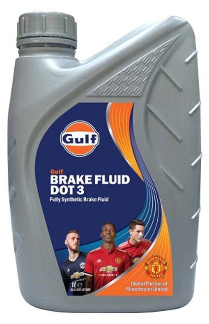 Hydraulic Brake Fluid DOT 3 Gulf