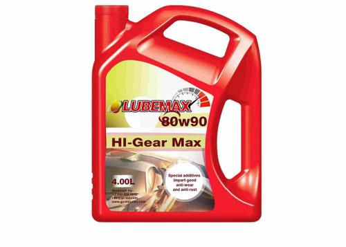 LubeMax HI-Gear Max 80W90 4L