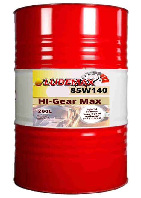 LubeMax HI-Gear Max 85W-140 200L