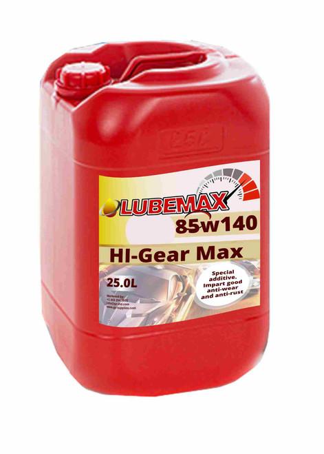 LubeMax HI-Gear Max 85W-140  25L