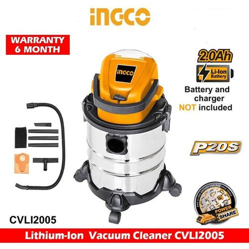 Lithium-Ion Vacuum Cleaner CVLI2005 INGCO