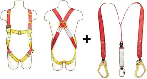 Safety Harness Lanyard OPB - (UB103 + WL22) Vaultex