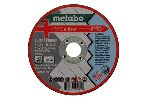 "Cutting Disc M-CALIBUR 6"" X .045"" X 7/8"" Metabo"