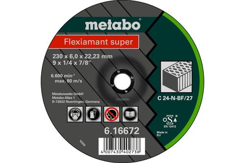 "Flexiamant Super 6"" Grinding Disc Stone Metabo"