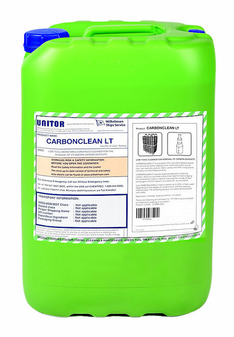 Unitor Carbon Clean LT 25LTR