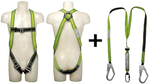 Safety Harness Lanyard D/b MFK Vaultex
