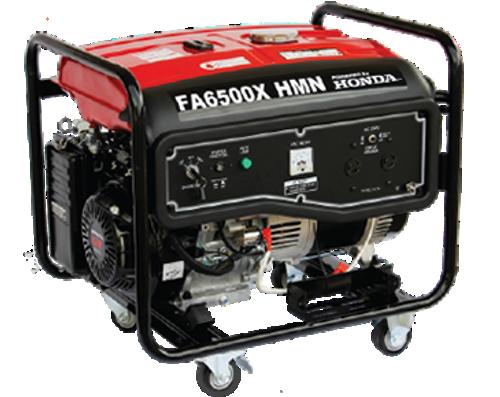 Honda Generator FA6500X