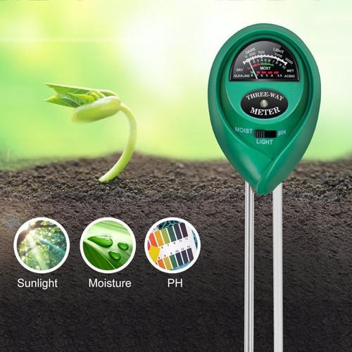 Soil meter 3 in 1 AIK-TPH01805 Hellog