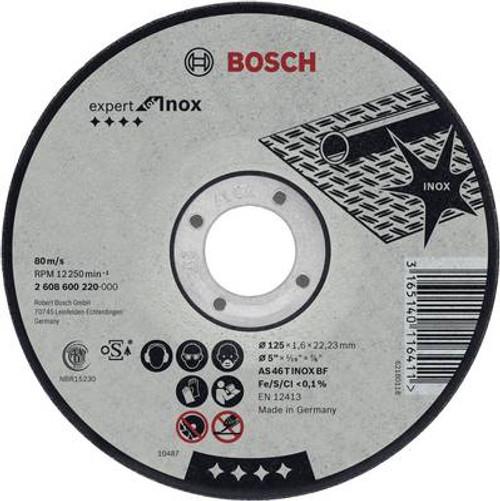 Bosch Inox straight cutting disc AS 46 T INOX BF, 115 mm,