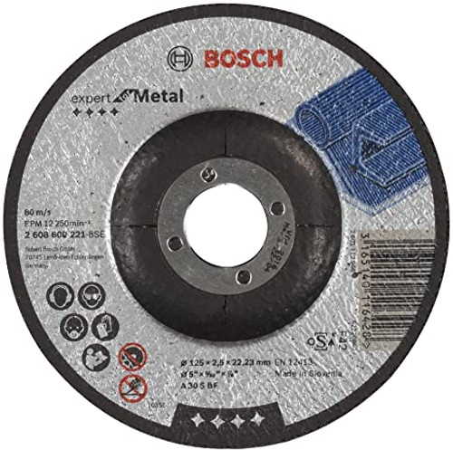 Bosch Expert for Metal cutting disc with depressed centre