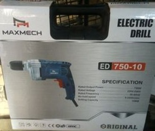 Maxmech Electric Drill ED 750-10
