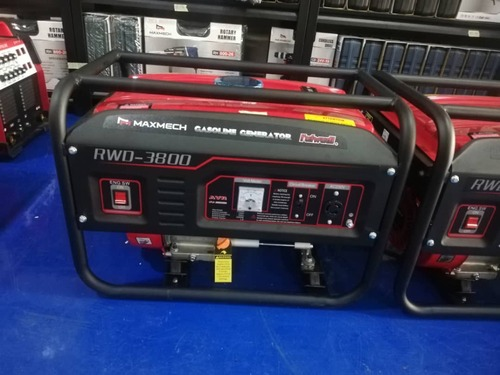Maxmech Generator  2.5KVA RWD- 3800