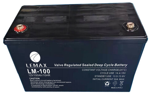 Inverter Battery 12V 100AH Lemax