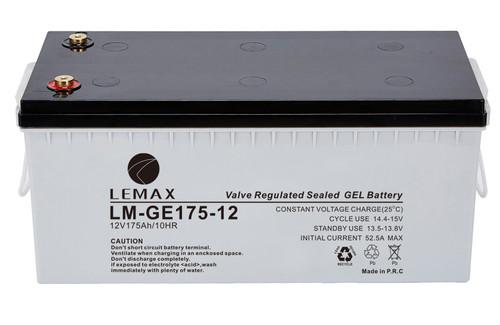 GEL Inverter Battery GEL 12V175Ah- LEMAX